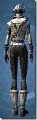 Contraband Runner - Female Back