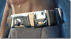 Contraband Runner Male Belt
