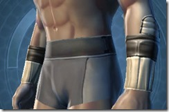 Contraband Runner Male Bracers