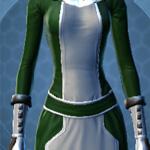 Dark Green and White Dye Module