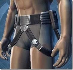 Intelligence Officer Male Belt