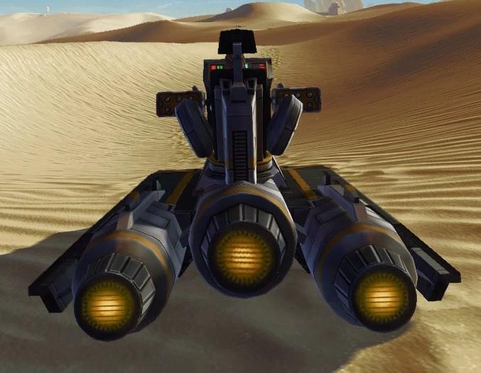 Landside Assault Speeder Back