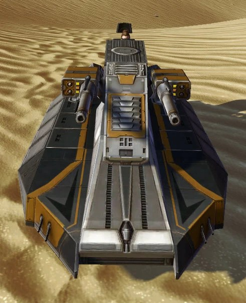 Landside Assault Speeder Front