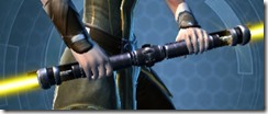 Reckoning's Exposed Saberstaff Front