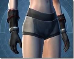 Armored Interrogator Female Gloves