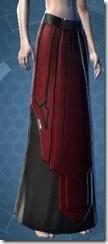 Armored Interrogator Female Lower Robe