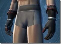 Armored Interrogator Male Gloves