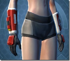 Havoc Squad Female Gauntlets