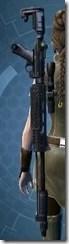 PW-8 Plasma Sniper Rilfe - Stowed