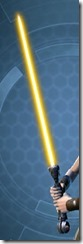 Vengeance's Unsealed Lightsaber - Full
