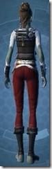 Interstellar Privateer - Female Back