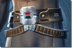 Interstellar Privateer Male Belt