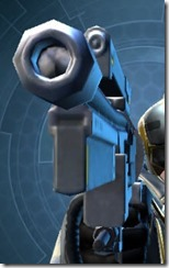 Defiant MK-1 Blaster Pistol Front