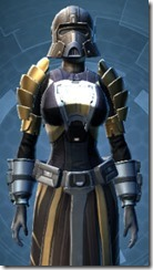 Defiant MK-4 Warrior - Female Close