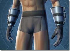 Defiant MK-4 Warrior Male Gauntlets