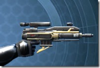 Exarch MK-1 Blaster Pistol Right