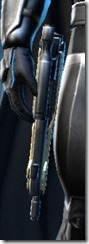 Exarch MK-1 Blaster Pistol Stowed