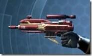 Exemplar Blaster Pistol Left