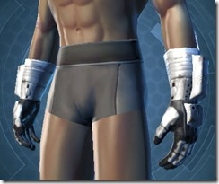 Frontline Defender Male Gauntlets