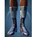 Lacquer Mesh Longboots [Force] (Imp)