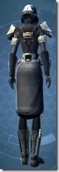 Outlander Knight - Female Back