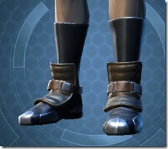 Renowned Duelist Male Boots