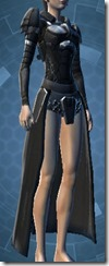 Sith Recluse Female Breastplate
