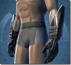 Sith Recluse Male Gauntlets