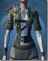 Synthleather Jacket Pub Tech - Female Front
