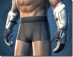Ultimate Exarch Smuggler Male Gauntlets