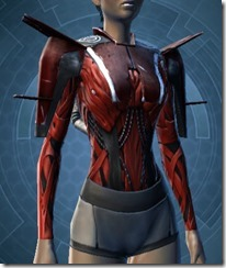 Veteran Inquisitor Female Vestments