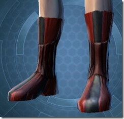 Veteran Inquisitor Male Boots