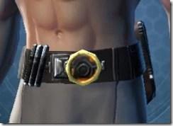 Veteran's Agent Male Belt