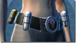 Veteran's Knight Female Belt