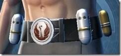 Veteran's Knight Male Belt