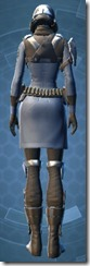 Defiant Asylum MK-16 - Female Back