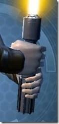 Fractured Force-Lord's Lightsaber MK-3 Back
