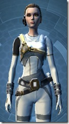 Overwatch Officer - Female Close