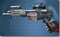 Veteran Blaster Pistol Left