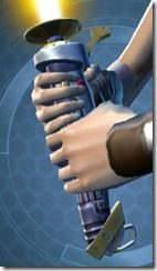 Yavin Bulwark's Lightsaber MK-3 Front