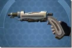 Aftermarket Demolisher's Blaster Pistol MK-3 Left