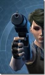 Aftermarket Targeter's Blaster Pistol MK-3 Front