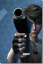 Crystalline Boltblaster's Blaster Pistol MK-3 Front