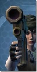 Dallorian Ultrachrome Blaster Pistol Front