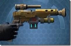 Dallorian Ultrachrome Blaster Pistol Right