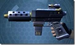 Decorated Targeter's Blaster Pistol MK-3 Left