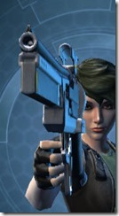 Defiant MK-16 26 Blaster Pistol Front