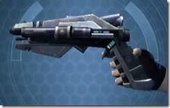 Fractured Targeter's Blaster Pistol MK-3 Left