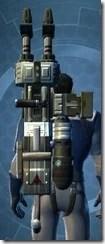 Plexoid Asylum Onslaught Assault Cannon Stowed