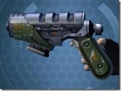 Plexoid Plexisteel Blaster Pistol Left